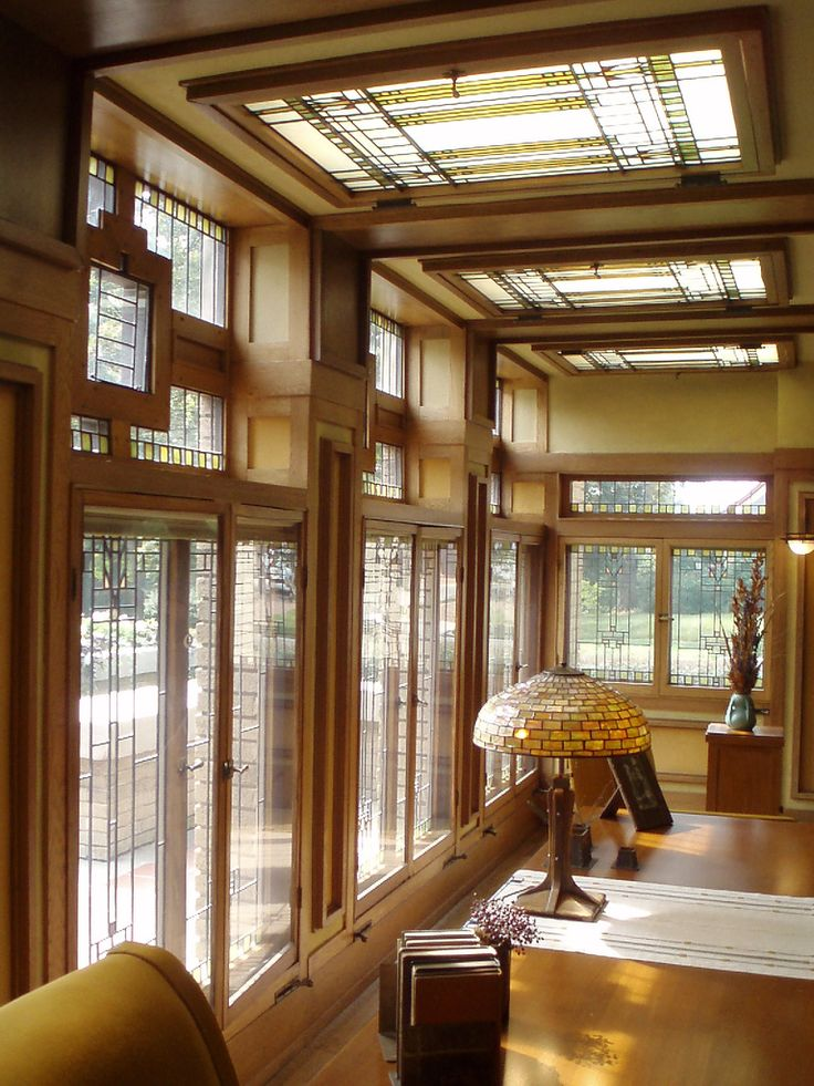 1918 best images about frank lloyd wright was a genius for Frank lloyd wright interior designs