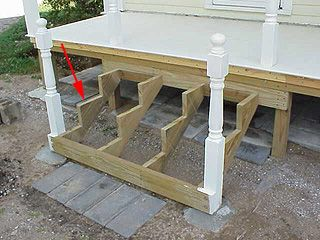 porch steps design and construction guide to designing stairs and laying out stair stringers - Patio Steps Design