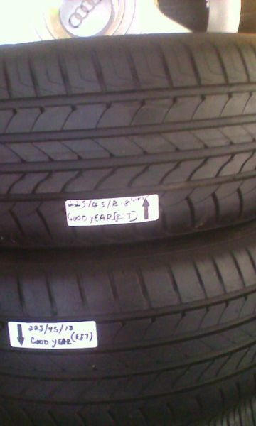 From R370.00 Call us on 0791920807 or  0726083305 or 0766603601. We do swap.We sell used tyres mags