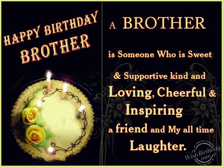 happy birthday wishes for brother Happy