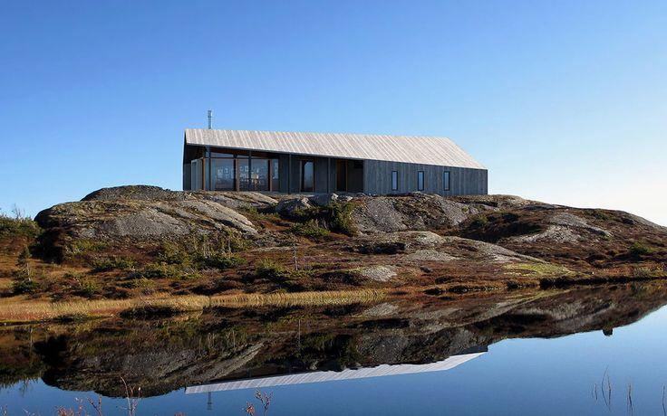 Snøhetta's prefab Gapahuk Cabin made for Rindalshytter | InsideHook