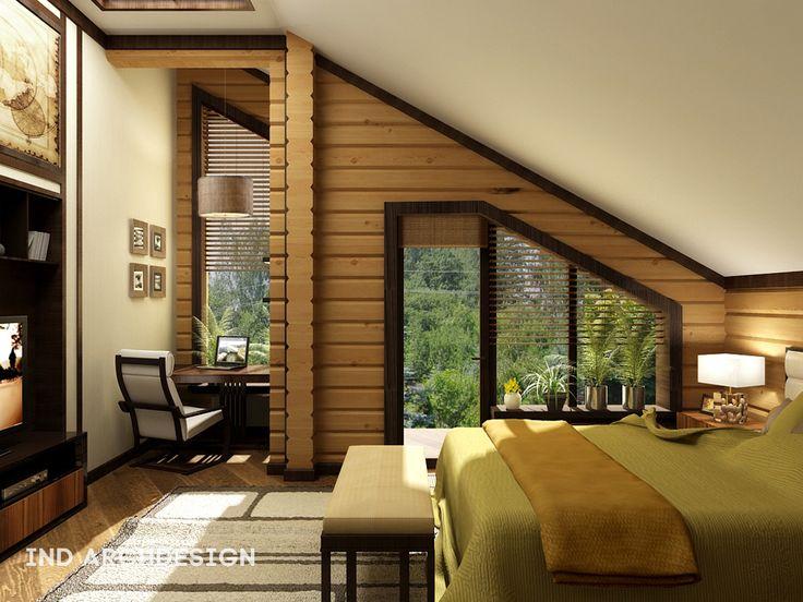 Дома из клееного бруса: фото интерьеров - СКД дом