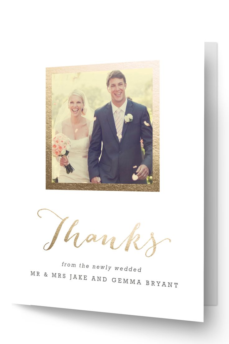 A Word of Thanks Word Of ThanksWedding