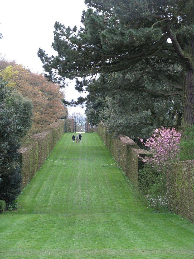 Taking a walk at Hidcote.