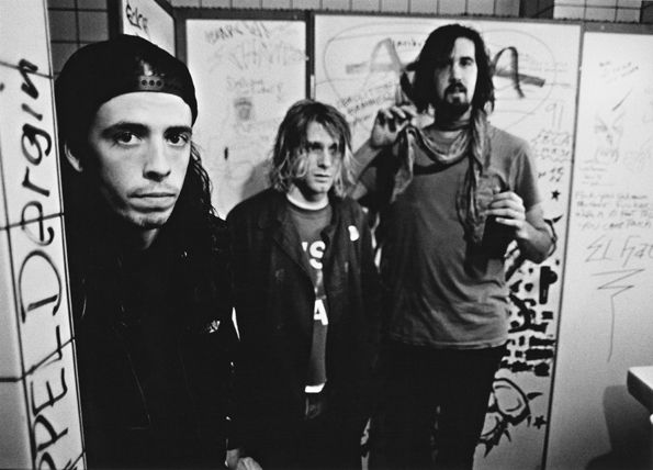 From their debut to 'MTV Unplugged,' look back at photos of Nirvana's legendary career: http://rol.st/KJQY6G