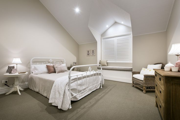 Hamptons or French Provincial Style Bedroom - Oswald Homes