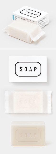 The Co. Ltd. / Matsuyama Co., Ltd. (Japan) | soap (material: soap foundation, shea butter, tocopherol) | design by Manabu Mizuno