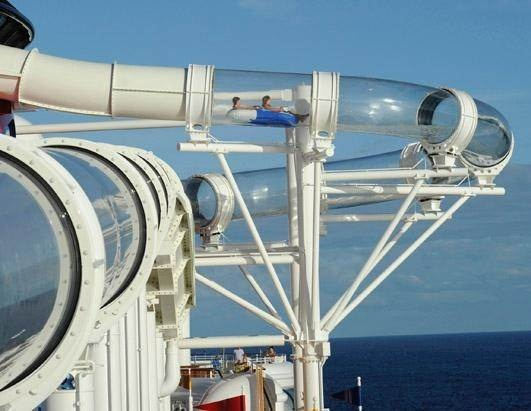 Best Cruise Waterslides Images On Pinterest Cruises Princess - Cruise ship turns over