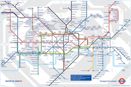 """ For apparently quite a number of people, the map organized London (rather than London organizing the map)"": London Underground, London Town, London Subway, Maps, Subway Map, London Map"