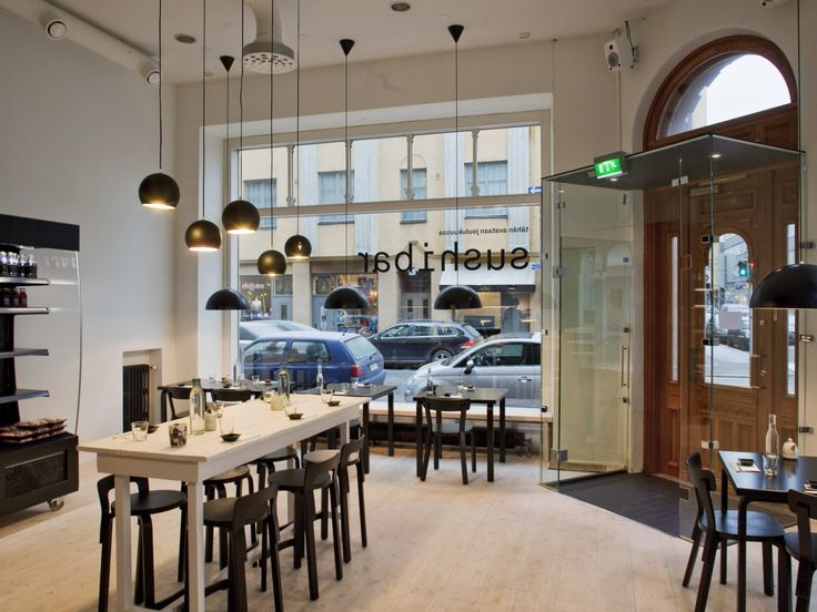 Artek - Projektit - Projektit - Sushibar restaurant, Helsinki