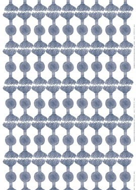 Another interesting Marimekko print for curtain: Tukaani.