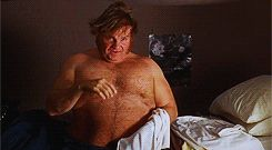 "Gif. Chris Farley in Billy Madison. ""That is correct""  You are sorely missed sir."