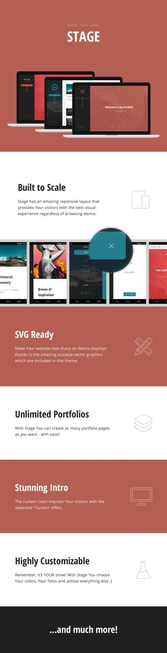 315 best WordPress Portfolio Themes images on Pinterest ...