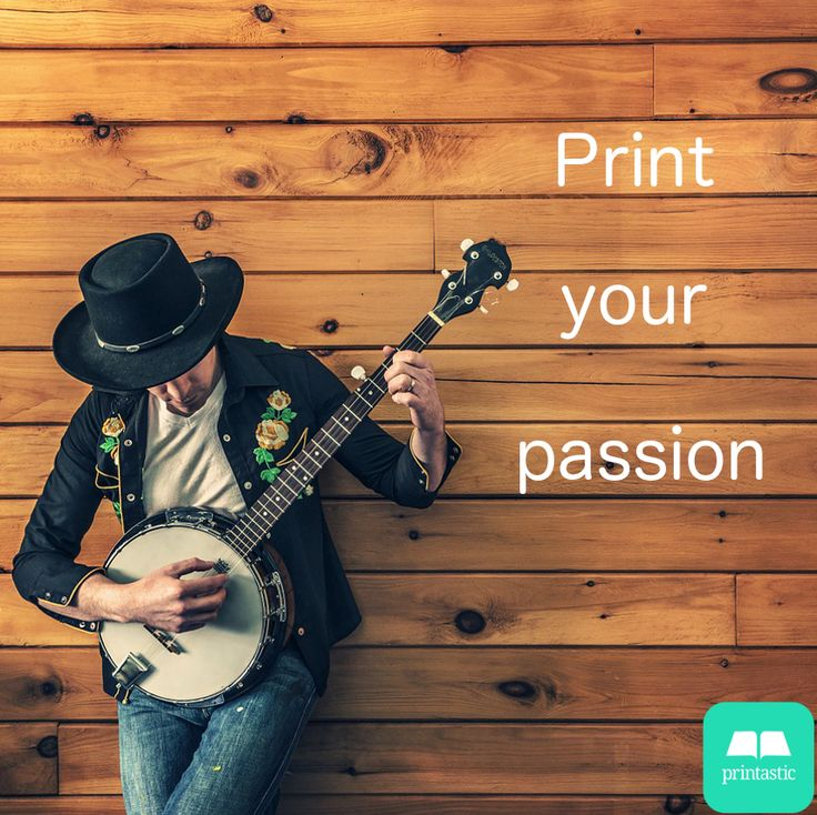 Print your passion with Printastic. #app #photo #music
