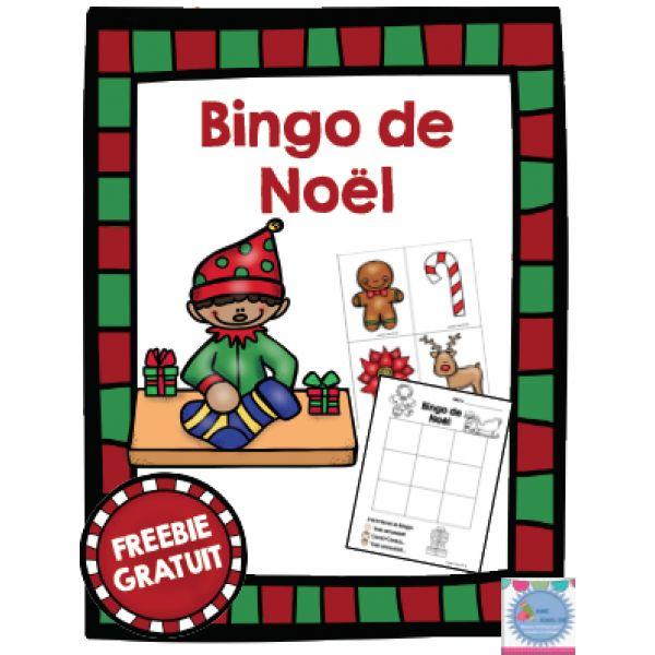 Bingo de Noël GRATUIT Plus
