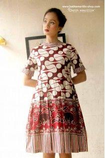 batik amarillis's it girl dress-PO