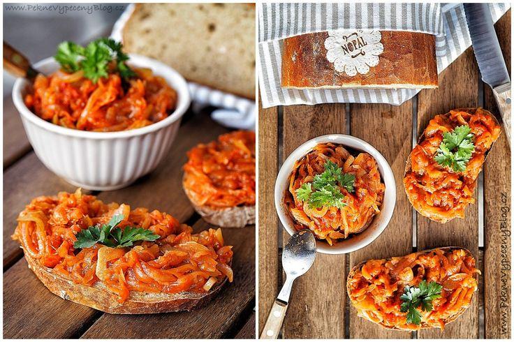 Pečená cuketa na chleba, Baked zucchini, www.peknevypecenyblog.cz