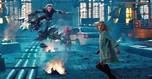 the amazing spider-man 2 el poder de electro los gadgets de rhino y duende verde