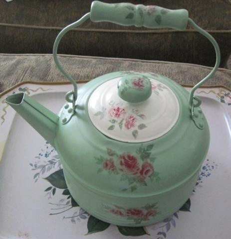 vintage pink and green :-)