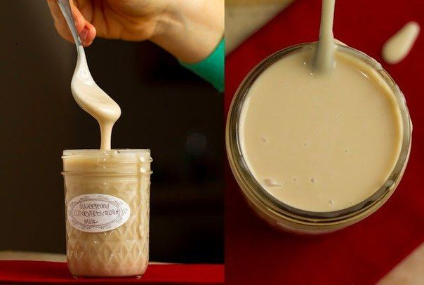 сгущенка из кокосового молока • 1 б. кок мол. (400мл), 60-65% жирн • ¼ чашки стевии  1. на огне чуть сильнее среднего до кип, прим. 5 мин,регулярно помешивая, Как закипит – уменьшить огонь 2. Варить на слабом огне, добавить подсластитель и мешать, пока не растворится. 3. Варить на слабом огне 30-45 минут, или пока объем жидкости не уменьшиться вдвое. 4. Снять с огня и дать остыть. Хранить до 7 дней в герметичном контейнере в холодильнике.