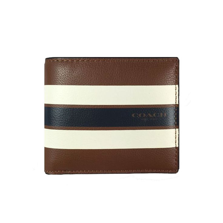 Coach Varsity Leather ID Wallet - #F75399