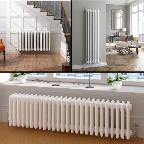 £320 Vertical-or-Horizontal-Traditional-Cast-Iron-Style-Column-Bathroom-Radiators