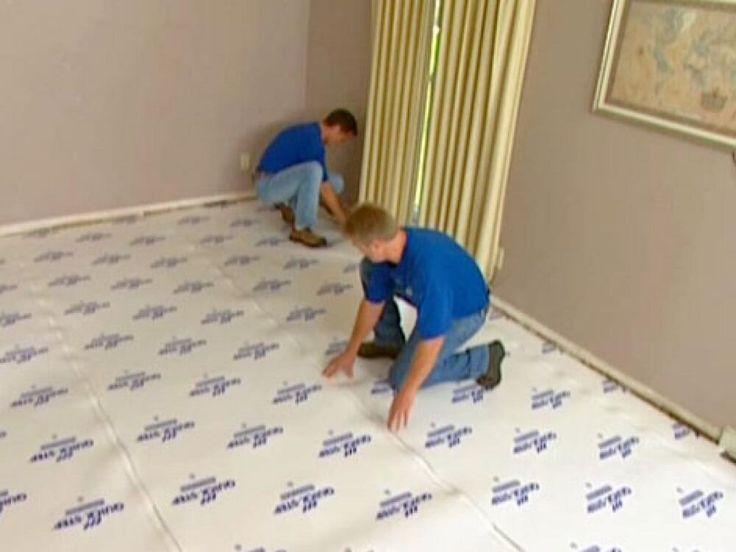 Como colocar piso laminado -Como instalar a manta do piso laminado
