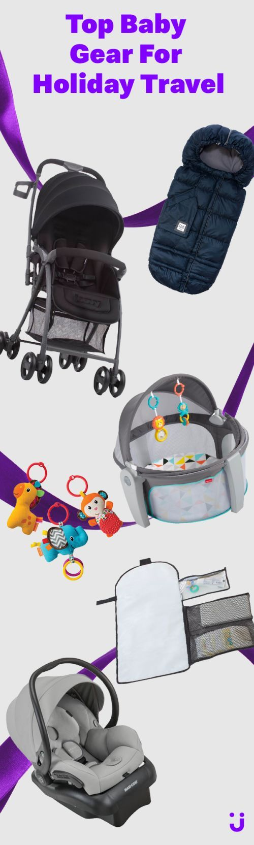 Looking for the best baby gear to travel to Grandma's this holiday season? Let Jet.com be your one-stop shop! Save on car seats, strollers, bouncers, baby monitors, walkers, and more!