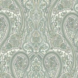 EijffingerAtlantic behang Afmetingen: 8,2M lang en 68,5CM breed Artikelnummer: 343078 Patroon: 52,1CM Kleur: créme, beige, groen Behangplaksel: Perfax paars Kwaliteit: vinylbehang nautisch behang - maritiem behang