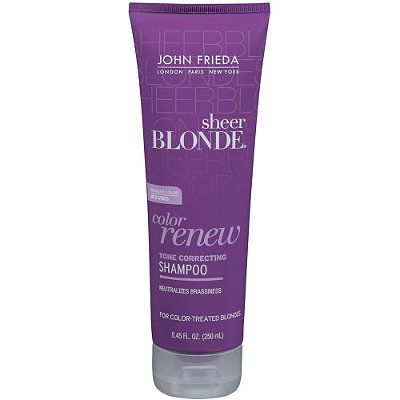 john friedasheer blonde color renew tone restoring shampoo - Soin Cheveux Blond Colors