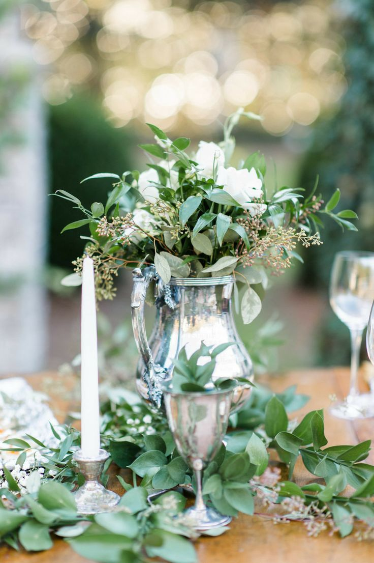 Ideas about green wedding centerpieces on pinterest