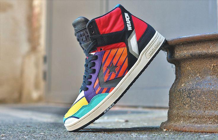 "Converse Weapon Mid ""Patchwork"" - EU Kicks: Sneaker Magazine"