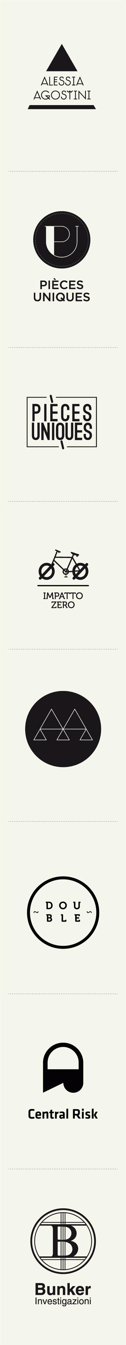 Some logos from my 2011 exercise collection. #branding #logos #logodesign