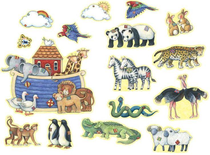 Susan Winget Noah's Ark Bulletin Board | SS-1358 | 4451, TCR4451