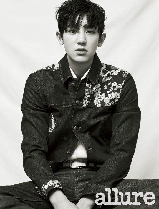 Chanyeol (EXO) est mystérieux pour Allure Korea