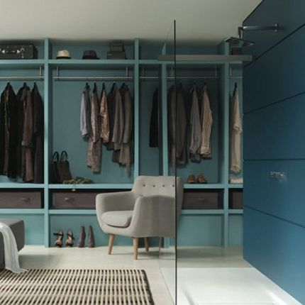 45 best dressing images on pinterest dresser room and home - Douche italienne dans une chambre ...