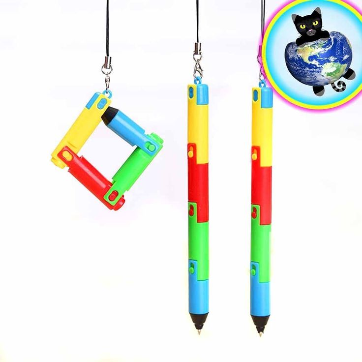 Bendy Fidget Pens - Set of 2
