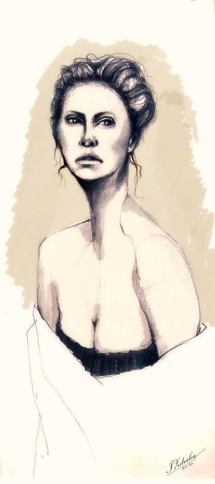 Drawings and Watercolour by zdralea ioana, via Behance