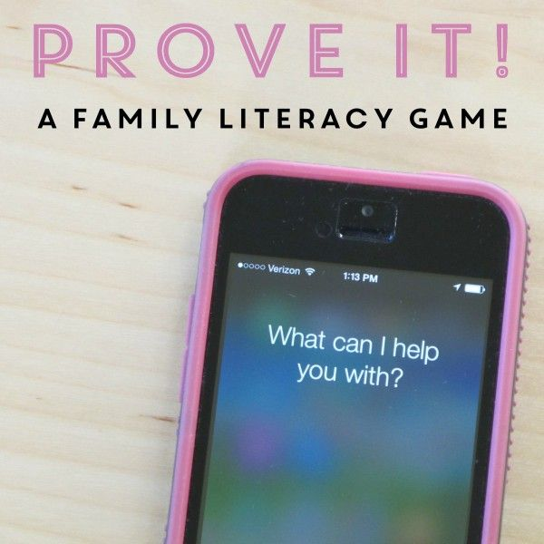 Prove It A Game To Practice Gathering Evidence Literacy