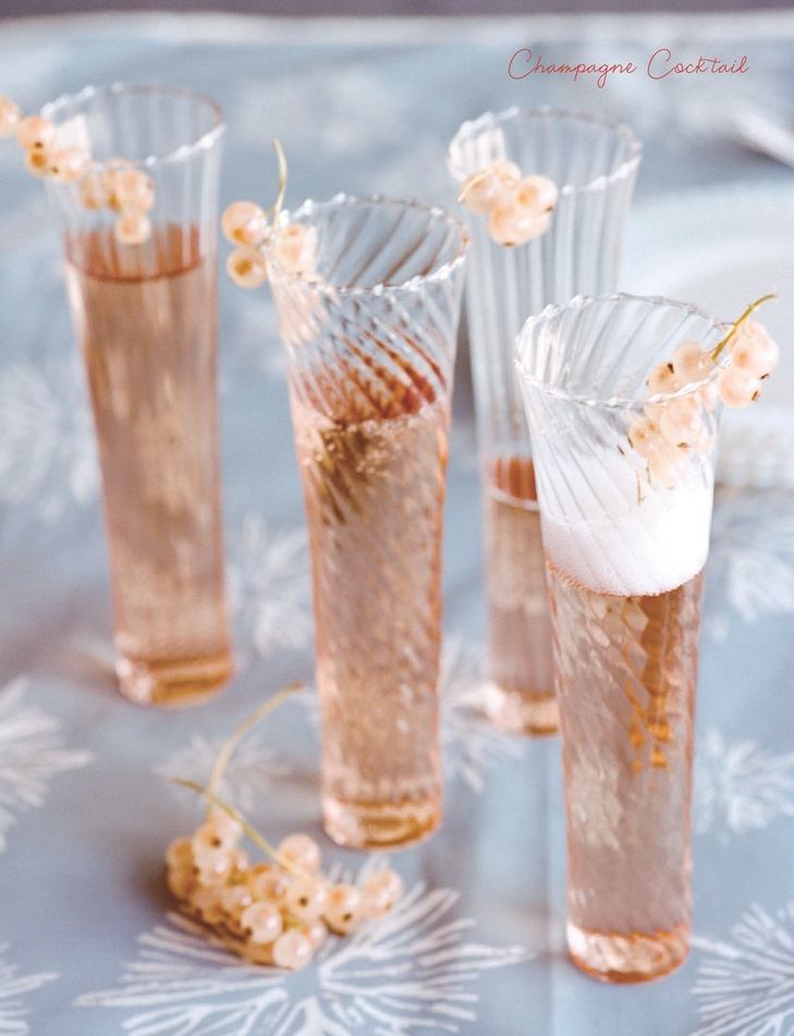 pretty champagne glasses