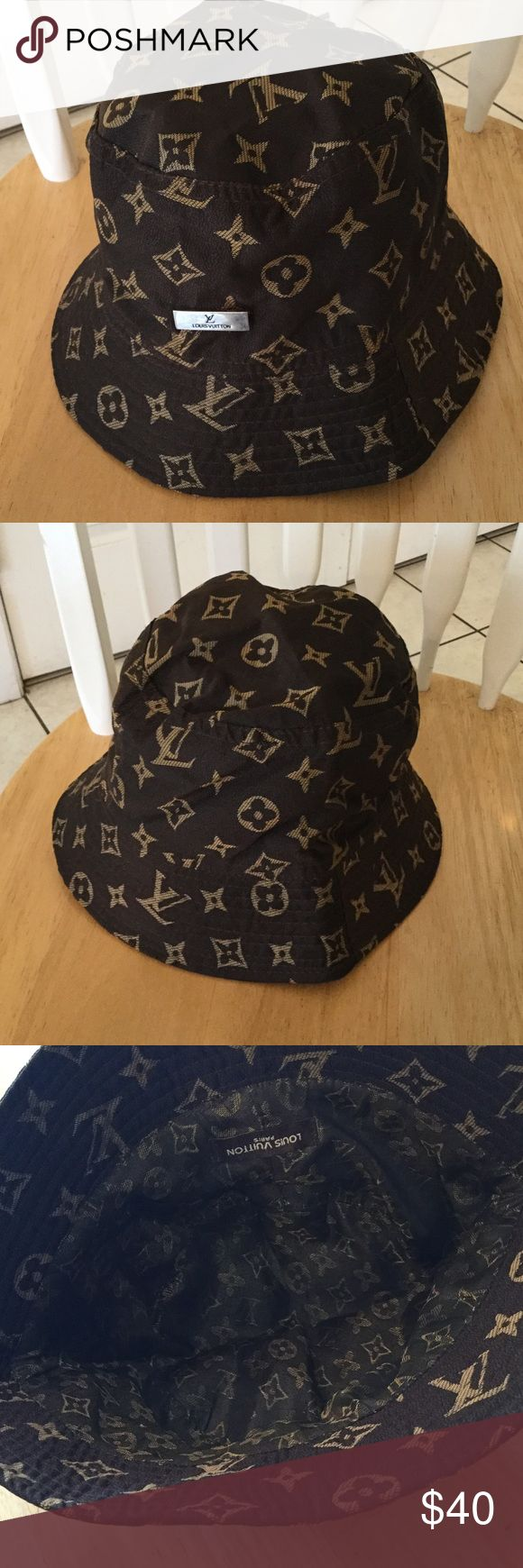 Louis Vuitton hat Nice hat good condition not sure if authentic or not low price. Accessories Hats