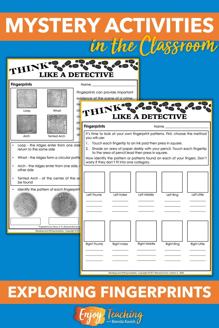 Mystery Activities for Kids Think Like a Detective! in