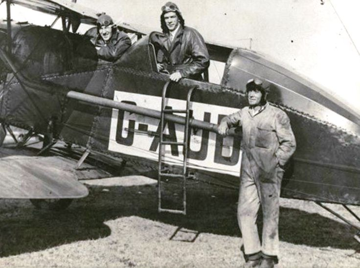 Charles Kingsford Smith, Charles Ulm and Bob Hitchcock round Australia flight. In June 1927, they completed their first big flight, a round-Australia circuit in 10 days, 5 hours, a notable achievement with minimal navigational aids.