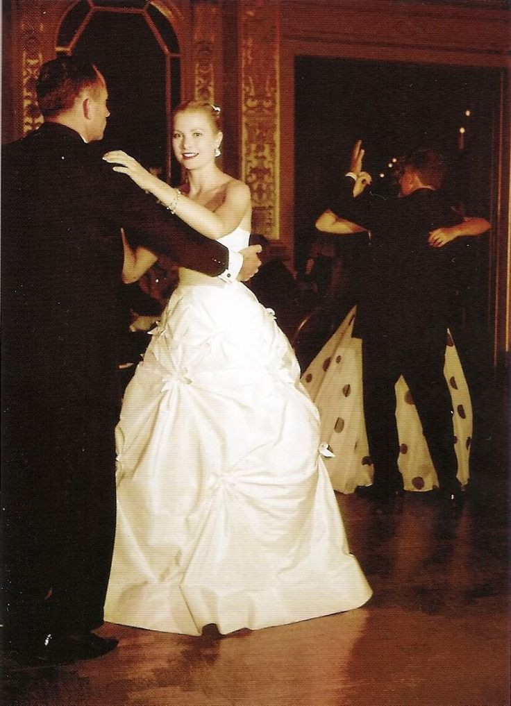 .Grace's gowns fit well & seemed to float as she moved with ease & confidence in ballrooms, on stage, & even at the beach.