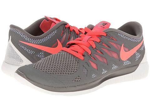 Nike Nike Free 5.0 '14 Light Ash/Wolf Grey/Summit White/Hyper · Running Shoes  NikeWomen ...