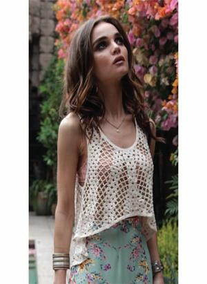 Lovers + Friends Kate Crochet Top