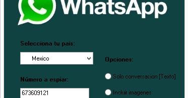 Pocos sitios webs tiene la versión de espiar whatsapp totalmente activa y sin errores. Desde Espiar Es Gratis, queremos compartir la aplicación/software espiar conversaciones de whatsapp. Actualmente estamos trabajando en un programa propio para espiar whatsapp y sera semejante a un keylogger de whatsapp, pero hasta ahora solo tenemos la autentica y original app de espiar whatsapp.