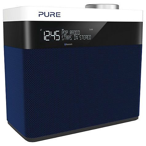 Buy Pure Pop Maxi S Portable Digital DAB/FM Radio with Bluetooth, Navy Online at johnlewis.com