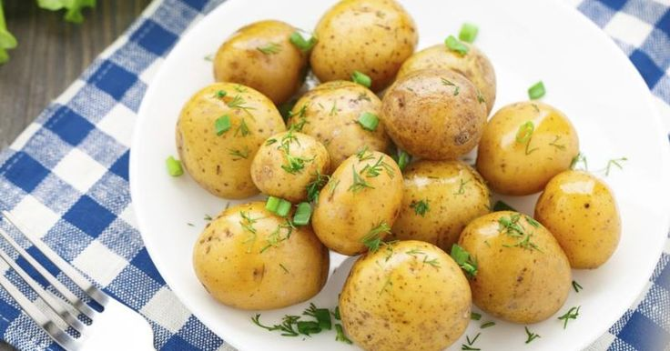 Freezing boiled potatoes is a simple task, and the frozen potatoes then are ready to use as needed. Prepare the frozen potatoes by mashing or roasting, or incorporate them into hot dishes, such as  casseroles, scalloped potatoes, soups or stews. According to the British Potato Council, frozen, boiled potatoes are best when used within a month.