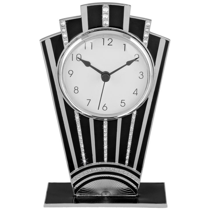 Art Deco clock. @Deidra Brocké Wallace. Learn about your collectibles, antiques, valuables, and vintage items from licensed appraisers, auctioneers, and experts at BlueVault. Visit:  http://www.bluevaultsecure.com/roadshow-events.php